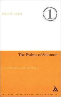bokomslag Psalms of Solomon