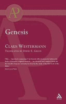 bokomslag Genesis (Westermann)