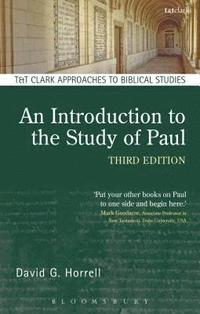 bokomslag An Introduction to the Study of Paul