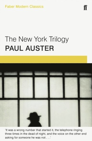 bokomslag New york trilogy - faber modern classics