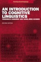 bokomslag An Introduction to Cognitive Linguistics