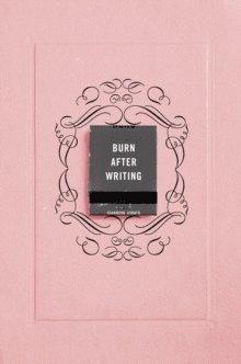 bokomslag Burn After Writing (Pink)