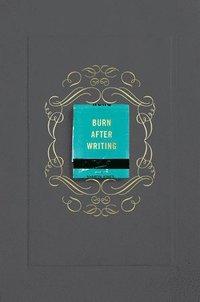 bokomslag Burn After Writing (Gray)