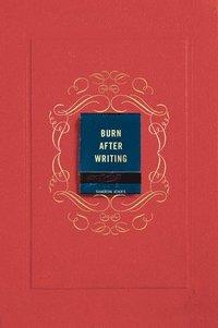 bokomslag Burn After Writing (Coral)