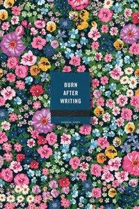bokomslag Burn After Writing (Floral)