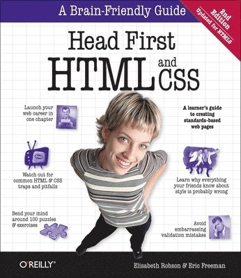 bokomslag Head First HTML and CSS