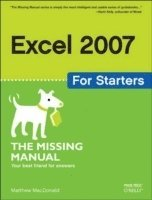 bokomslag Excel 2007 for Starters