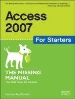 bokomslag Access 2007 for Starters
