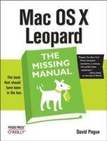bokomslag Mac OS X Leopard: The Missing Manual