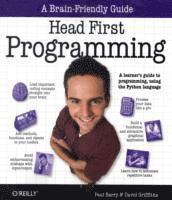 bokomslag Head First Programming: A Learner's Guide to Programming Using the Python Language