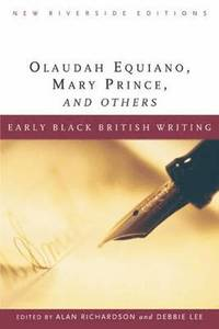 bokomslag Early Black British Writing