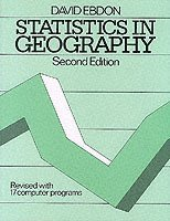 bokomslag Statistics in geography - a practical approach