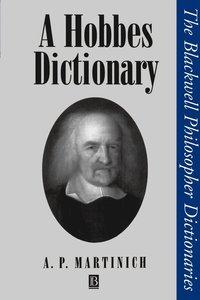 bokomslag A Hobbes Dictionary