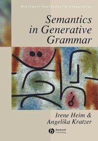bokomslag Semantics in generative grammar