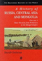 bokomslag A History of Russia, Central Asia and Mongolia, Volume I