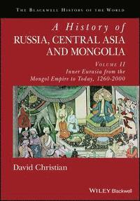 bokomslag A History of Russia, Central Asia and Mongolia, Volume II