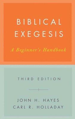 Biblical exegesis : a beginner's handbook 1