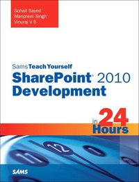 bokomslag Sams Teach Yourself Sharepoint 2010 Development in 24 Hours