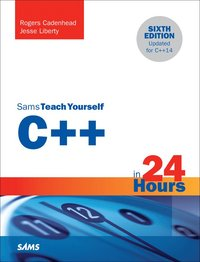bokomslag C++ in 24 hours, sams teach yourself