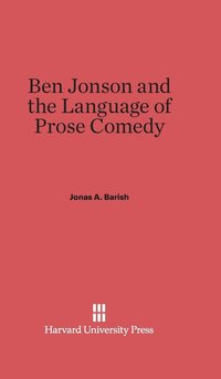 bokomslag Ben Jonson and the Language of Prose Comedy