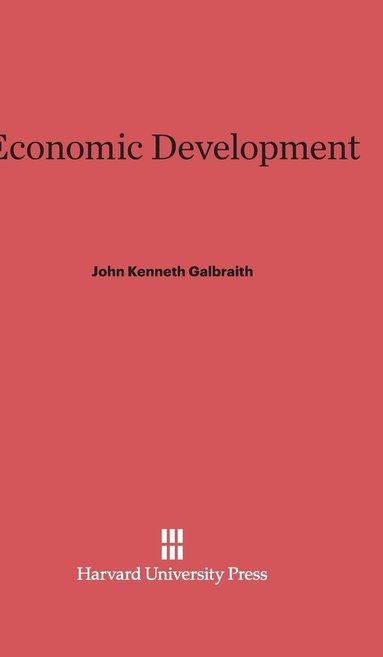 bokomslag Economic Development