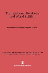 bokomslag Transnational Relations and World Politics