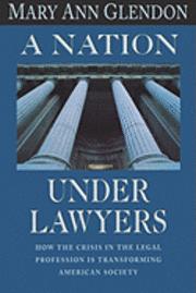 bokomslag Nation Under Lawyers