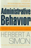 bokomslag Administrative Behavior, 4th Edition