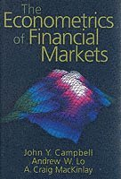 bokomslag The Econometrics of Financial Markets