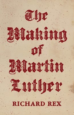 bokomslag The Making of Martin Luther