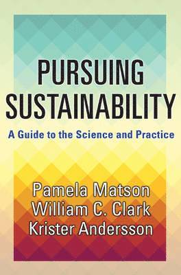 bokomslag Pursuing Sustainability: A Guide to the Science and Practice