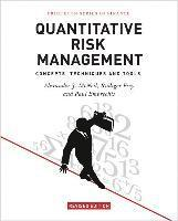 bokomslag Quantitative Risk Management: Concepts, Techniques and Tools