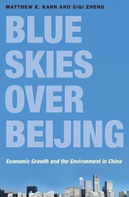 bokomslag Blue skies over beijing - economic growth and the environment in china