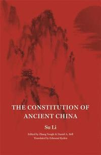 bokomslag The Constitution of Ancient China