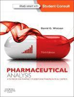 bokomslag Pharmaceutical Analysis: A Textbook for Pharmacy Students and Pharmaceutical Chemists