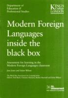 bokomslag Modern Foreign Languages Inside the Black Box