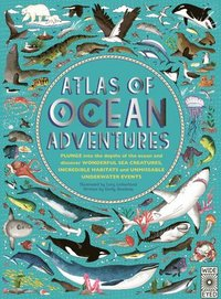 bokomslag Atlas of Ocean Adventures: A Collection of Natural Wonders, Marine Marvels and Undersea Antics from Across the Globe