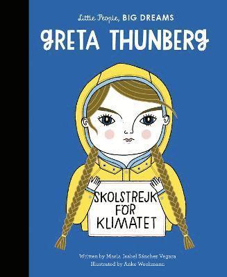 bokomslag Greta Thunberg : Little People, BIG DREAMS