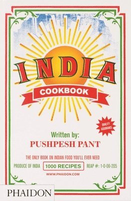 bokomslag India - cookbook