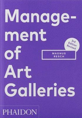 bokomslag Management of Art Galleries