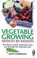 bokomslag Vegetable Growing Month-by-Month