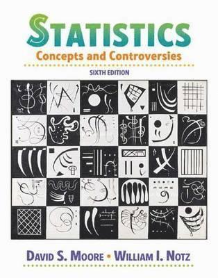 bokomslag Statistics Concepts and Controversies
