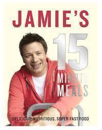 bokomslag Jamie's 15-Minute Meals