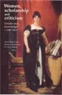 bokomslag Women, Scholarship and Criticism C.1790-1900