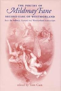 bokomslag The Poetry of Mildmay Fane, Second Earl of Westmorland