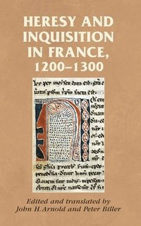 bokomslag Heresy and Inquisition in France, 1200-1300