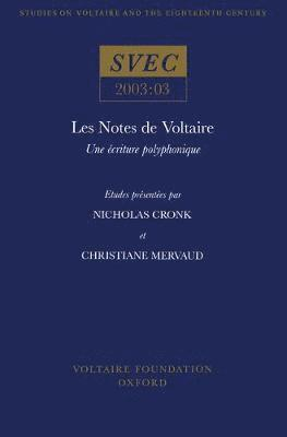 bokomslag Les Notes de Voltaire