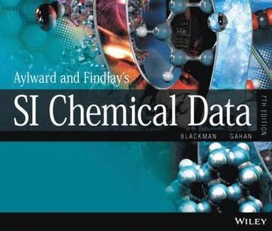 bokomslag Aylward and Findlay's SI Chemical Data, 7th Edition