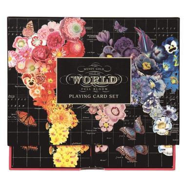 Kortlek Wendy Gold Full Bloom 2-pack 1