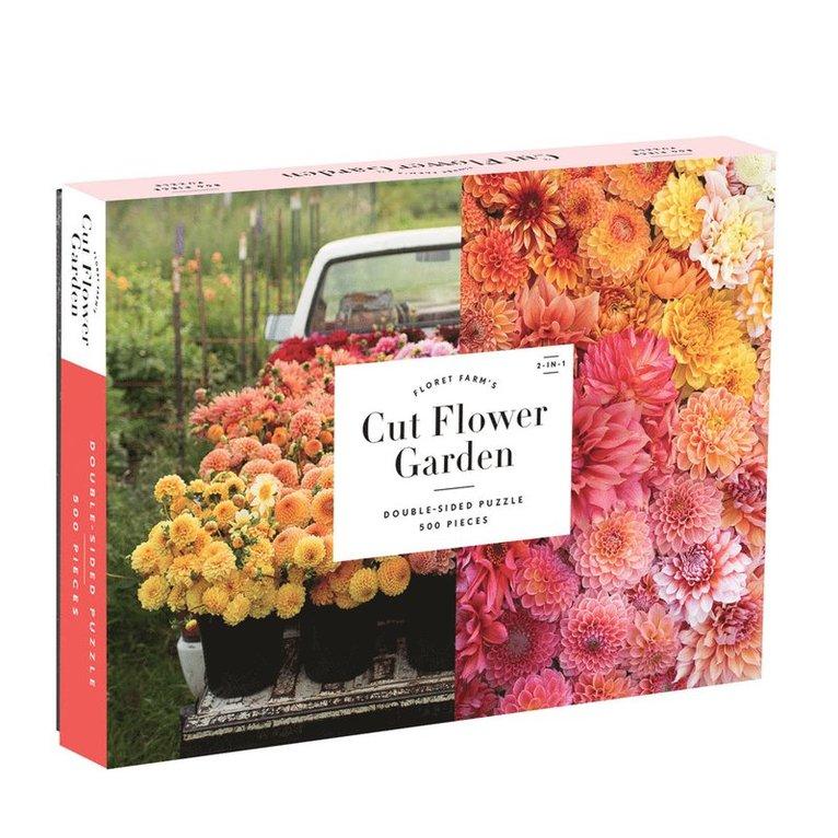 Pussel 500 bitar dubbelsidigt Floret Farms Cut Flower Garden 1